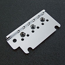 002-6097-049 - Fender American Standard Strat Chrome Bridge Top Plate