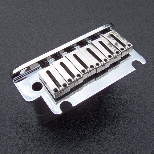 003-6449-000 American Deluxe, Elite Strat Tremolo Bridge, Chrome
