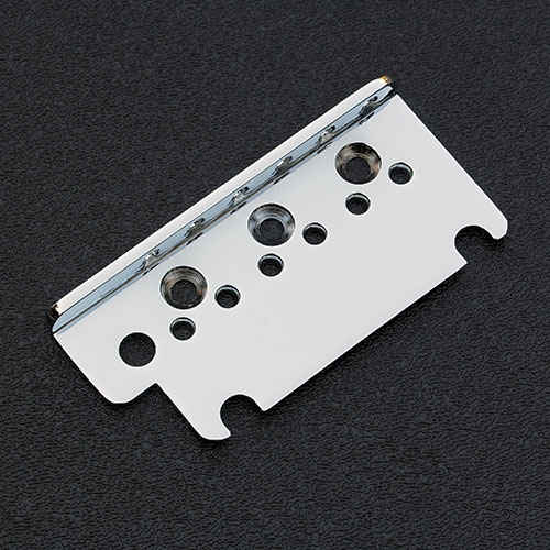 003-6527-000 0036527000 Genuine Fender American Deluxe, Ultra and Elite Strat Chrome Bridge Top Plate