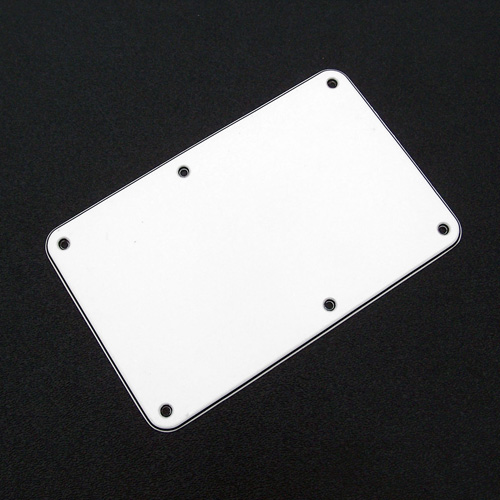 003-8948-000 - Genuine Fender Stratocaster White 'Sambora' 3 Ply Tremolo Cover Back Plate