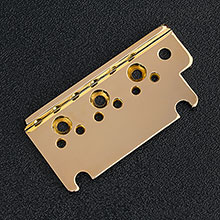 004-9740-000 - Fender American Standard Strat Gold Bridge Top Plate - Left Handed
