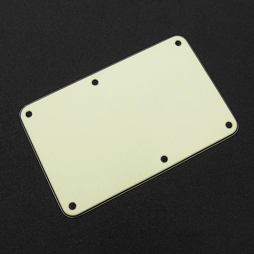 005-4030-000 - Genuine Fender Stratocaster Mint Green 3 Ply Tremolo Cover Back Plate
