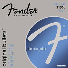 073-3150-403 - Fender 250LR Nickel Plated Steel Light/Regular Electric Guitar Strings