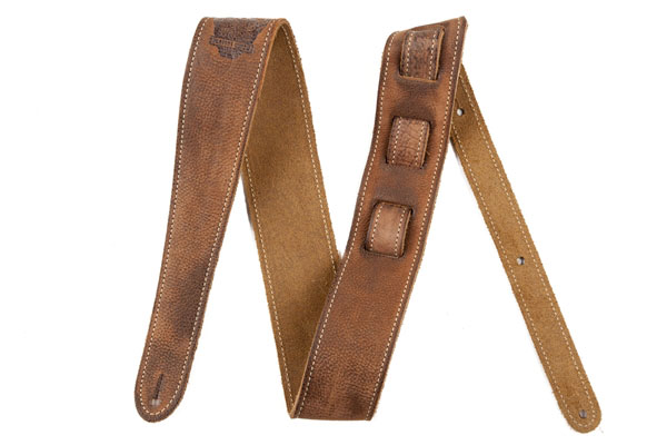 099-0660-050 0990660050 - Fender Road Worn Brown Leather Strap