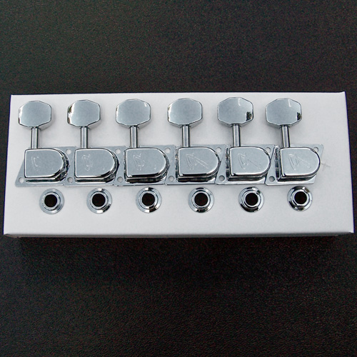 "099-0822-100, Fender '70's ""F"" Series Chrome Tuning Keys"