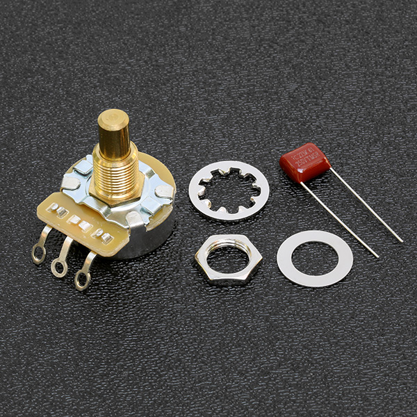 099-0835-000 0990835000 - Fender CTS 500K Solid Shaft Volume / Tone Potentiometer