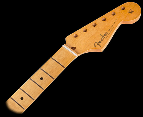 099-0061-921 0990061921 - Fender Nitrocellulose Lacquer, Vintage Style 50's, Soft V, 21 Vintage Frets, Maple Fingerboard, 7.25'' Radius