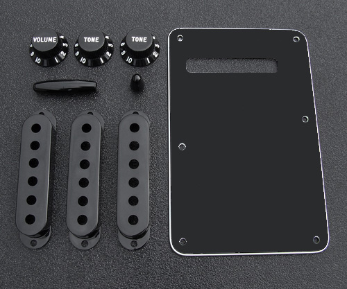 099-1363-000 0991363000 Fender Stratocaster Black Accessory Kit