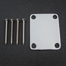 099-1447-100 Fender Vintage Chrome 4-Bolt Neck Plate