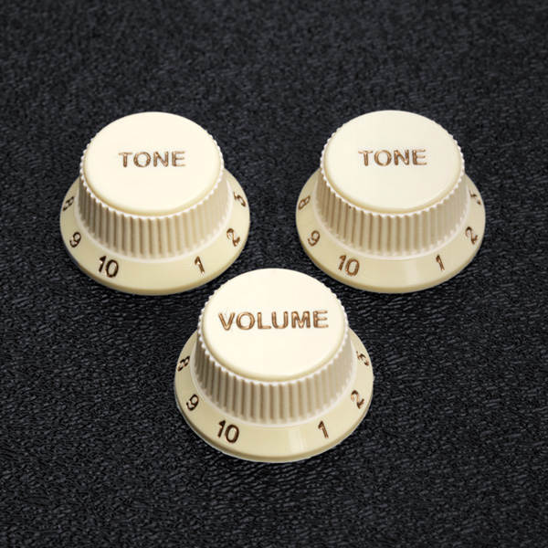 099-2008-000 Fender Soft Touch Aged White Knob Set