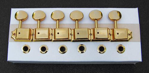 099-2040-200 Genuine Fender Stratocaster Vintage Gold Tuning Machines