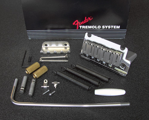 099-2050-000 099205000 Fender American Standard Stratocaster Chrome Tremolo Bridge Assembly