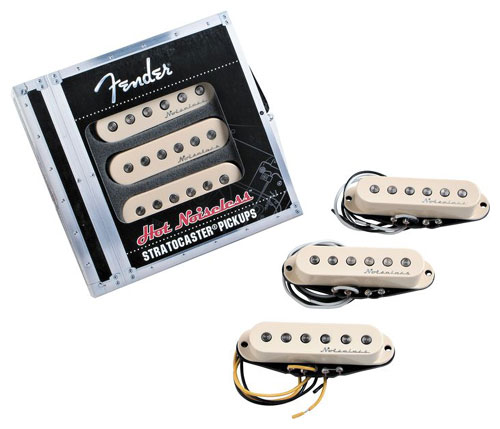 099-2105-000 Genuine Fender Stratocaster Hot Noiseless Pickup Set