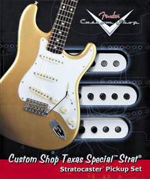099-2111-000 - Fender® Custom Shop Texas Special Stratocaster® Pickup Set