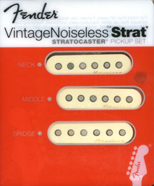 Fender Vintage Noiseless Strat Pickup Set