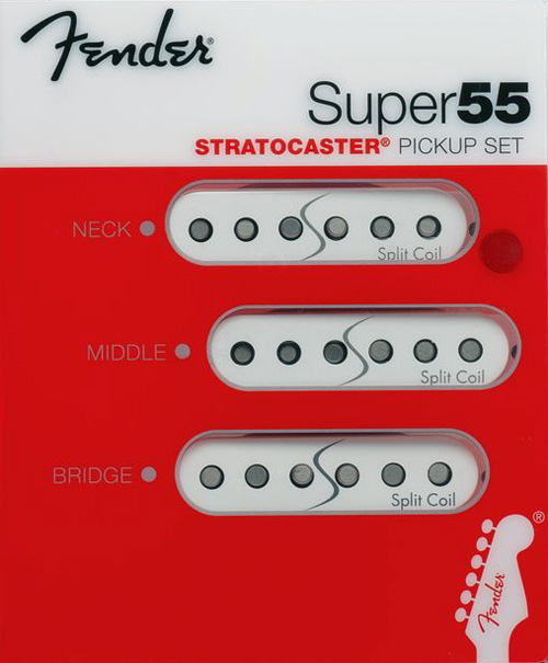 099-2211-001 Fender Super 55 Noiseless Stratocaster Pickup Set
