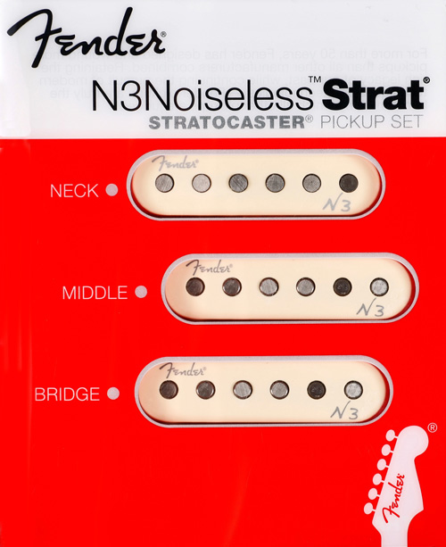 099-3115-000 Fender N3 Noiseless Stratocaster Pickup Set