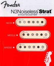 099-3115-000 - Fender® N3 Noiseless Stratocaster® Pickup Set