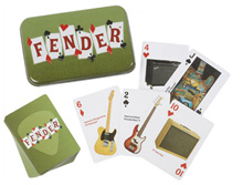 099-9526-000 Fender Dual-Deck Playing Card Tin Set