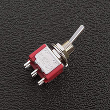 2171268 - DPDT On/On Mini-Toggle Switch, 1/4'' Mounting