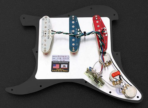 fender pickups wiring diagram images strat pickguard assembly built fender n3 noiseless pcikup set