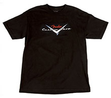 910-1359-606 - Fender Custom Shop T-Shirt, Black