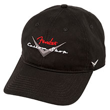910-6635-306 - Fender Custom Shop Hat, Black
