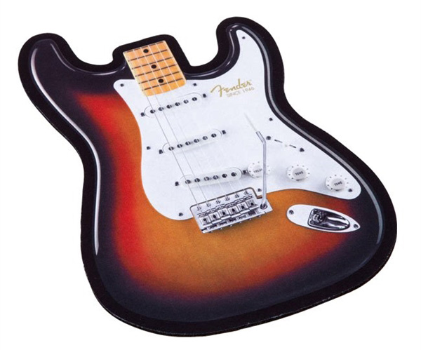 919-0560-116 9190560116 - Fender Strat Body Mouse Pad
