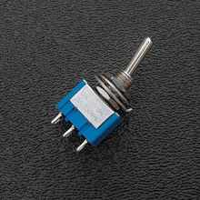 B102 - SPDT On/On Mini-Toggle Switch, 15/64'' Mounting
