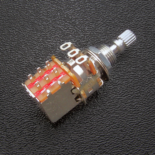 250k Push-Pull Potentiometer with DPDT Switch