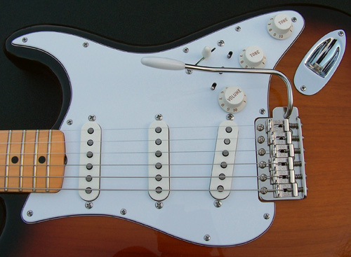 Custom Fabricated EZ-Trem Stainless Steel Stratocaster Tremolo Arms