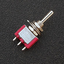 R103 - SPDT On/Off/On Mini-Toggle Switch, 15/64'' Mounting