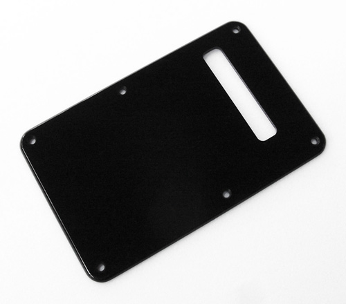 Modern Black or White 1 Ply 0.120'' Acrylic Back Plate With Rounded and Polished Edge
