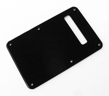 Modern Style Black or White 1 Ply 0.120'' Acrylic Back Plate With Rounded and Polished Edge