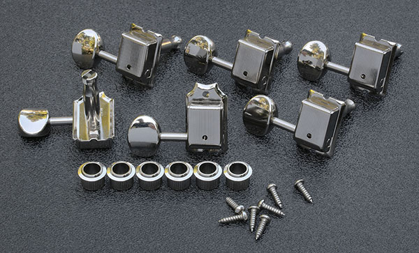 TK 0880-001 -  Gotoh SD91 Vintage Style Tuning Keys - Nickel